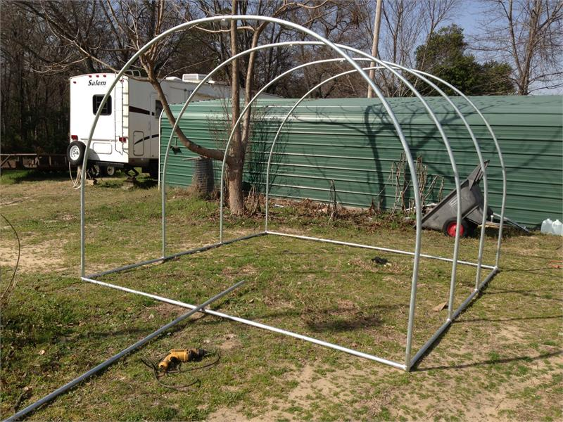 Round Top Hoop House Connector Kit