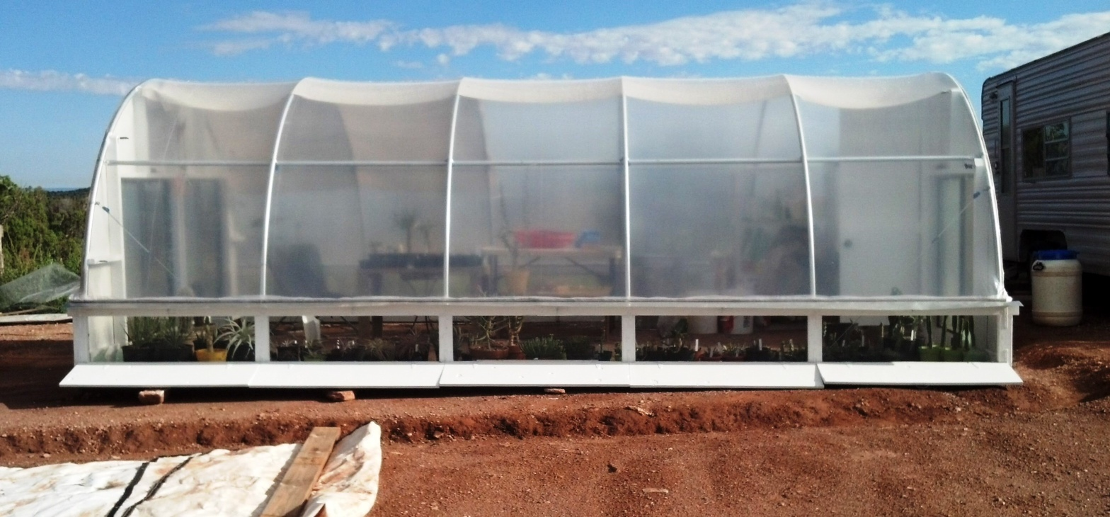 ventilated hoop house