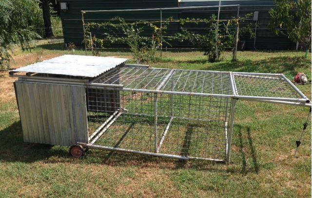 Chicken Coop Tractor 2