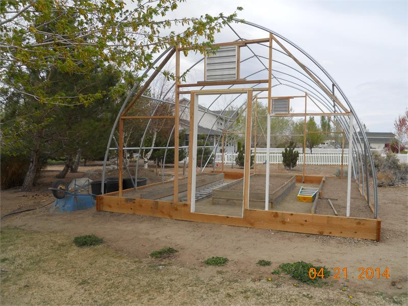 Citaten Hoop House : How to build a greenhouse or hoop house