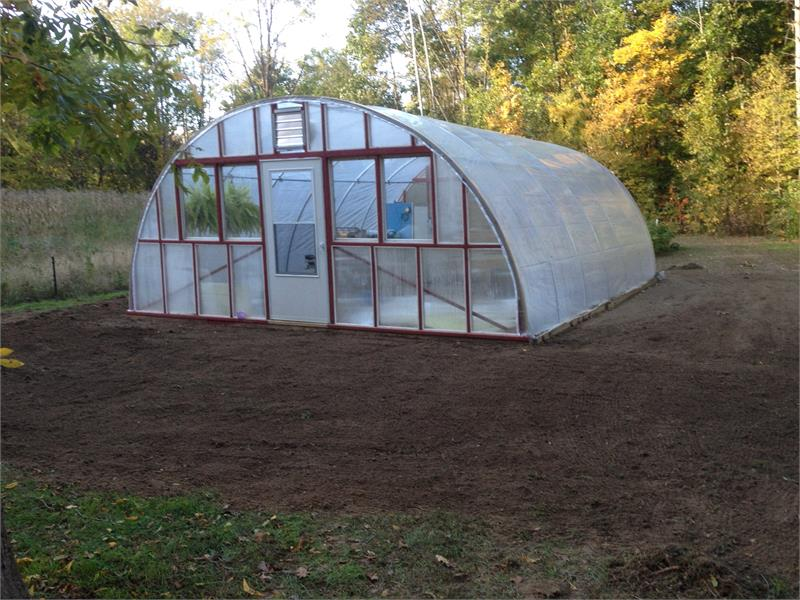 It S Simply Hard To Beat This Original 20 Wide Hoop House For Cost Strength Durability Built Using Our C Bender And Instructions